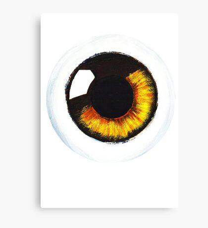 Orange Eye Canvas Print