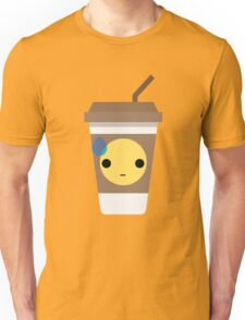 Coffee Cup Emoji Speechless with Sweat Unisex T-Shirt