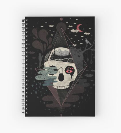 Happy Riddle Spiral Notebook