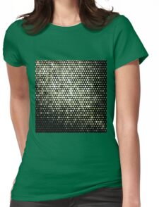 circle of illusion Womens Fitted T-Shirt