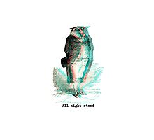 All Night stand - Owl by andydandy