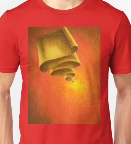 Fiery Scroll Unisex T-Shirt