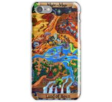Land of Xeen Map 2013 iPhone Case/Skin