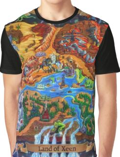 Land of Xeen Map 2013 Graphic T-Shirt