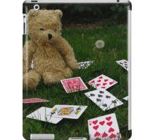 whimsical teddy bear iPad Case/Skin
