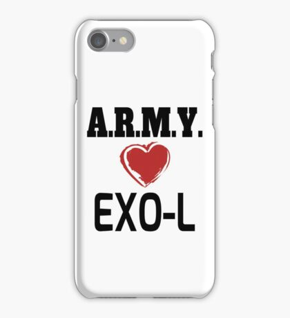 ARMY Loves EXO-L iPhone Case/Skin
