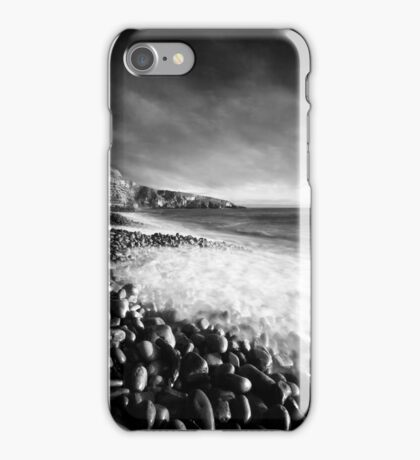 Spring Swell (Mono) iPhone Case/Skin