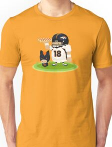 Peyton and his Bronco Unisex T-Shirt