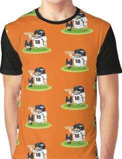 Peyton and his Bronco Graphic T-Shirt