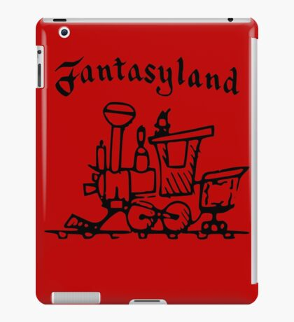 Vintage Stamped Fantasyland Casey Jr iPad Case/Skin