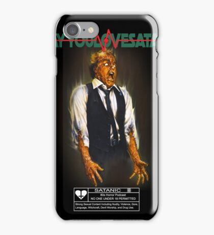 Say You Love Satan 80s Horror Podcast - Scanners iPhone Case/Skin