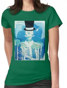 Fancy Skeleton  Womens Fitted T-Shirt