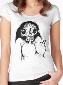 Spooky Fun Women's Fitted Scoop T-Shirt