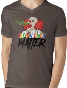 Clown Lives Matter Mens V-Neck T-Shirt