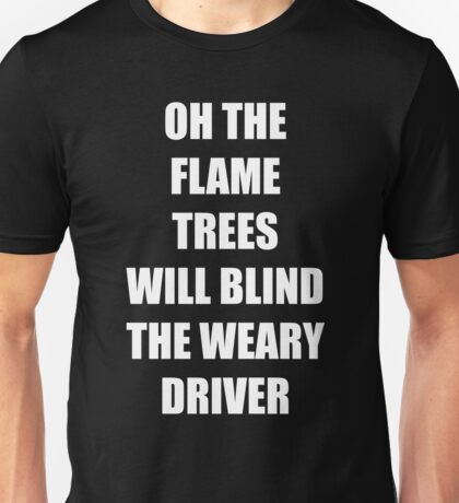 """Cold Chisel """"Flame Trees"""" Unisex T-Shirt"""