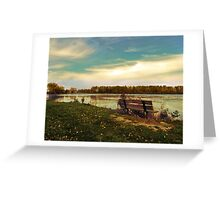 Autumn at East Harbor State Park 3 Greeting Card