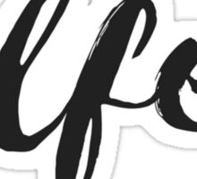 wlfeo Sticker