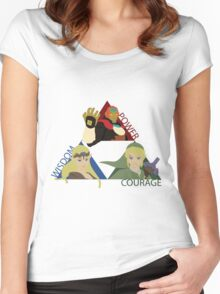 Three Opposing Forces Women's Fitted Scoop T-Shirt