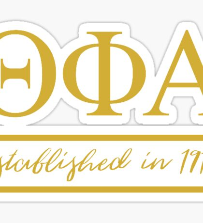Theta Phi Alpha Established Sticker