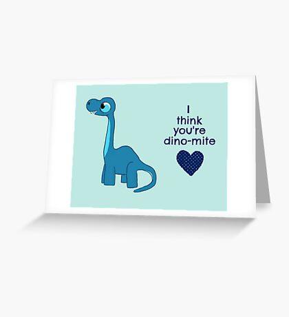 Dino-mite  Greeting Card