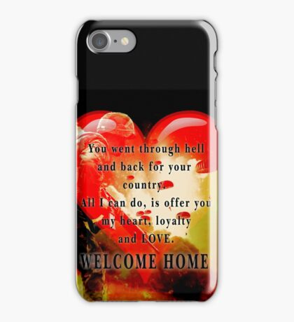 Love for Veterans iPhone Case/Skin