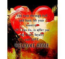 Love for Veterans Photographic Print