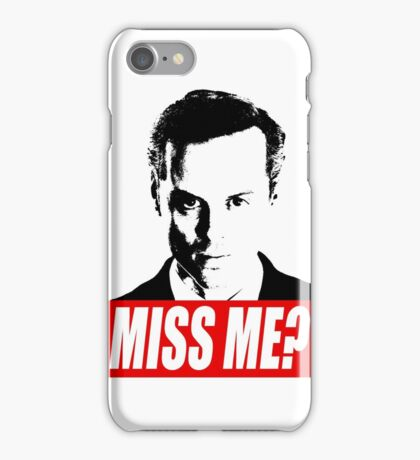 Miss Me? - Jim Moriarty - Sherlock iPhone Case/Skin
