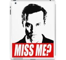 Miss Me? - Jim Moriarty - Sherlock iPad Case/Skin