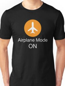 Airplane Mode ON Unisex T-Shirt