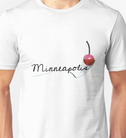 Cherry on a Spoon Unisex T-Shirt
