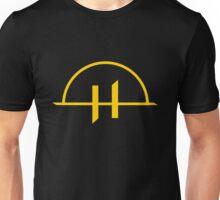 Helgrim Logo - Yellow Unisex T-Shirt