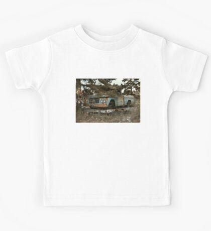 Abandoned Dodge Sweptline Pickup Kids Tee