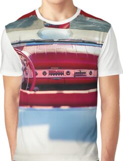 Classic Ford Thunderbird convertible Graphic T-Shirt