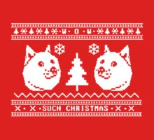 DOGE UGLY CHRISTMAS SWEATER PATTERN by awesomegift