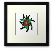 The Woven Seal Framed Print