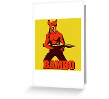 Bambo - First Blood Greeting Card