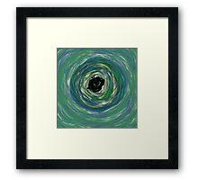 Eye of the Storm Framed Print