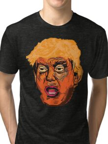 Nightmare on Trump Street - The Horror Begins Tri-blend T-Shirt