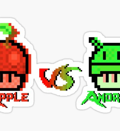 Fruits Versus Aliens - Pixels Sticker