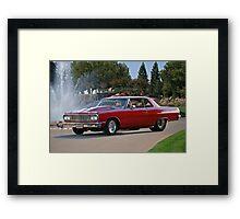 1965 Chevrolet 'Pro Street' Malibu Framed Print