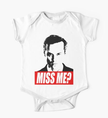 Miss Me? - Jim Moriarty - Sherlock One Piece - Short Sleeve