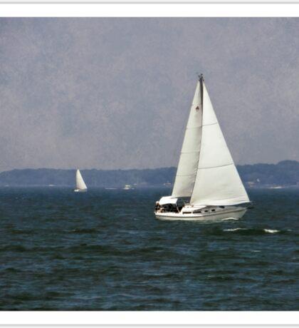 Lake Erie Sailing Sticker