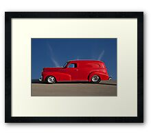 1947 Chevrolet 'Profile of Passion' Panel Framed Print