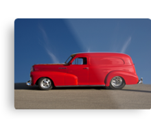 1947 Chevrolet 'Profile of Passion' Panel Metal Print