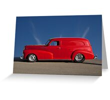 1947 Chevrolet 'Profile of Passion' Panel Greeting Card