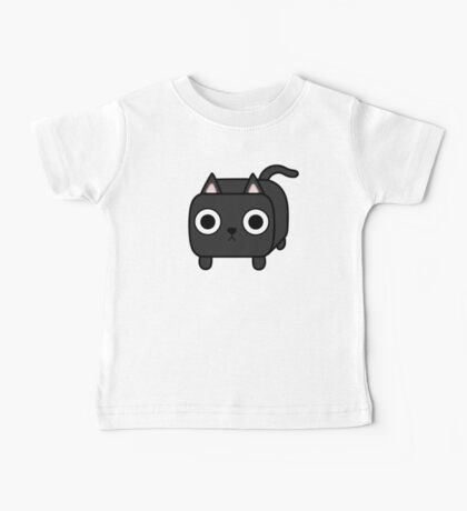 Cat Loaf - Black Kitty Baby Tee