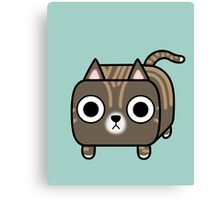 Cat Loaf - Brown Tabby Kitty Canvas Print