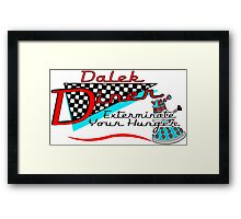 Dalek Diner 1 Framed Print