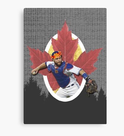 Russell Martin - Flower Crown Canvas Print