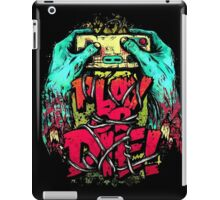 Play or Die! iPad Case/Skin